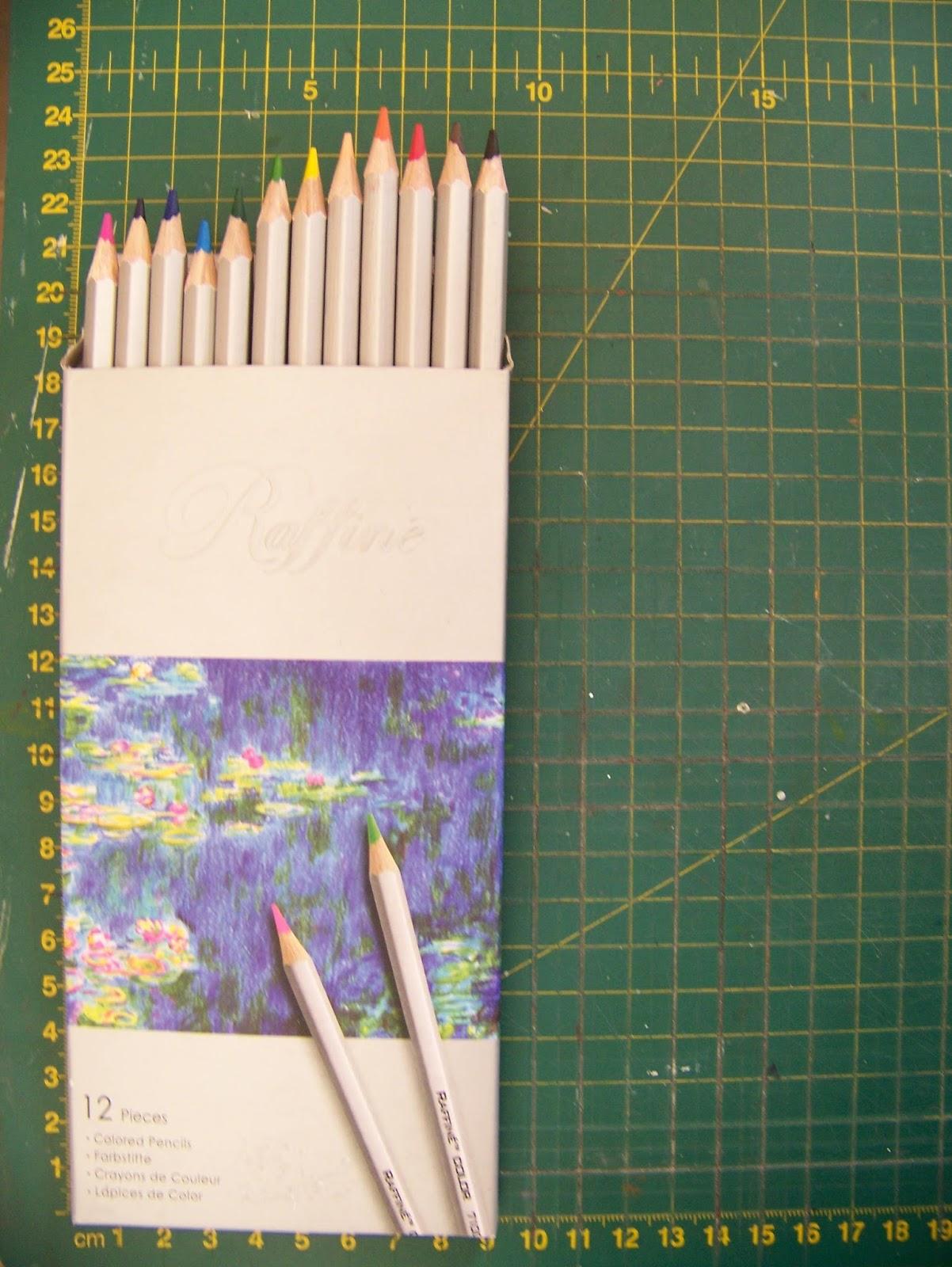 a pretty talent blog comparing marco raffine coloring pencils to derwent