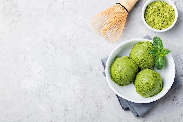 גלידת מאצ'ה