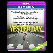 Yesterday (2019) WEB-DL 720p Audio Dual Latino-Ingles