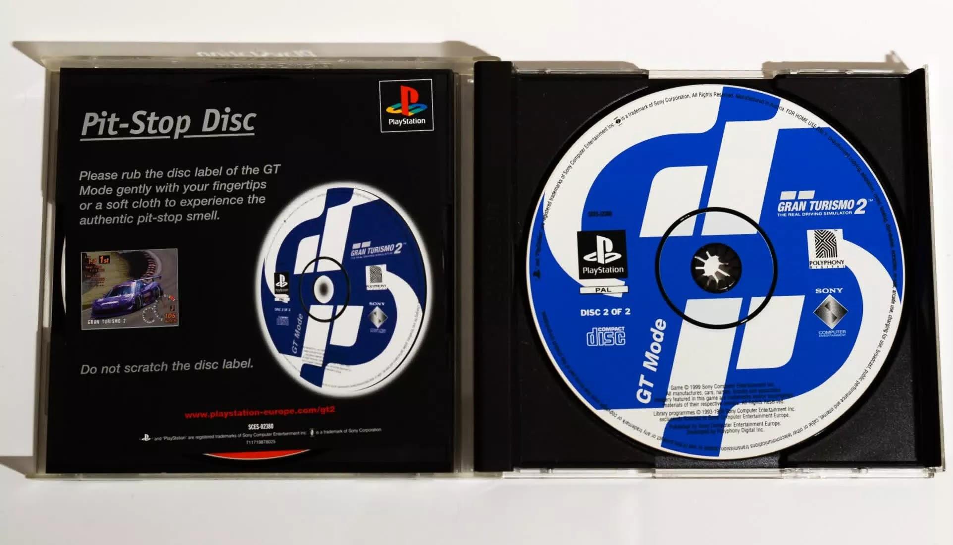 Một số trò chơi PlayStation 1 được xuất xưởng với nhãn thơm.