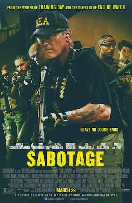 Sinopsis Film Sabotage (2014)