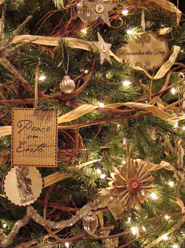 los adornos reciclados rsticos y son los que ms se usaran esta navidad