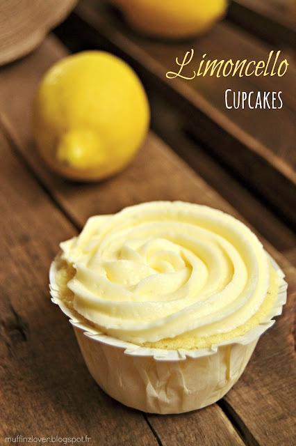Recette Cupcakes Citron Limoncello - muffinzlover.blogspot.fr