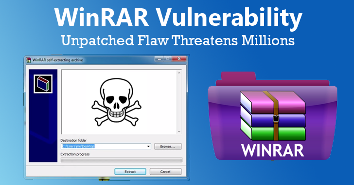 KILLER! Unpatched WinRAR Vulnerability Puts 500 Million Users At Risk