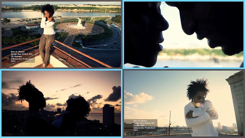 Geldys & Mulato Mc - ¨Eres mi sábana¨ - Videoclip - Director: Yoharis Alling. Portal Del Vídeo Clip Cubano