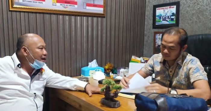 Senin, Oknum Kepala Tiyuh Mekarsari Jaya Bersama Istrinya Diperiksa Penyidik Tipikor Polres Tubaba