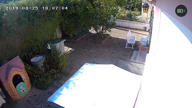 une caméra wifi pour l'extérieur