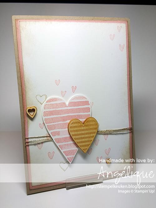 de Stempelkeuken Stampin' Up! producten koopt u bij de Stempelkeuken http://stempelkeuken.blogspot.com #stempelkeuken #stampinup #stampinupnl #valentijn #hearthappiness #blushingbride #crumbcake #love #liefde #verliefd #huwelijk #bruiloft #wedding #februari #liebe #valentine #denhaag #thehague #westland #delft