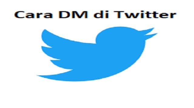 cara dm di twitter