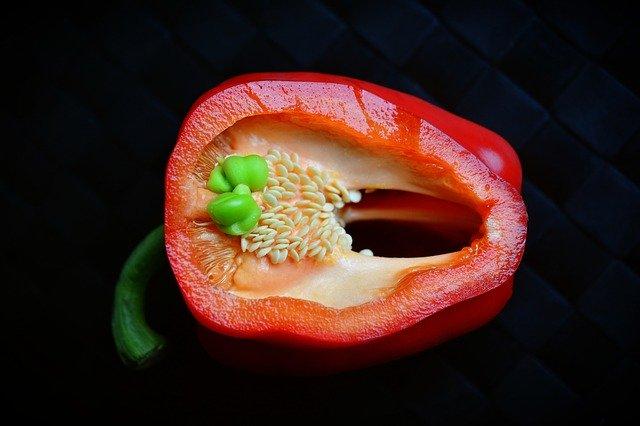 growing indoor peppers