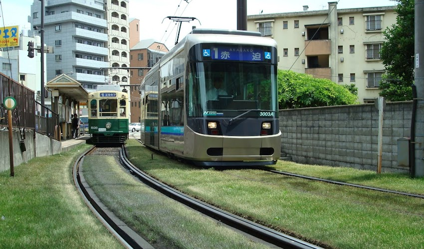 Nagasaki Tour with Street Car - Blue Line