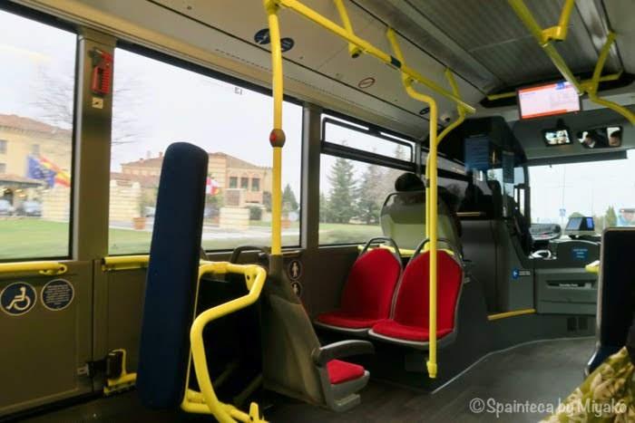 セゴビアのバス