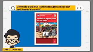 download ebook pdf  buku digital pendidikan agama hindu kelas 6 sd