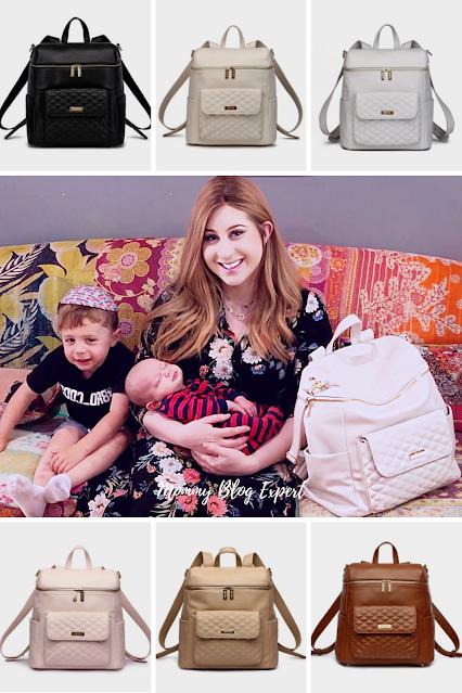 Luli Bebe Monaco Faux Leather Diaper Bag Colors