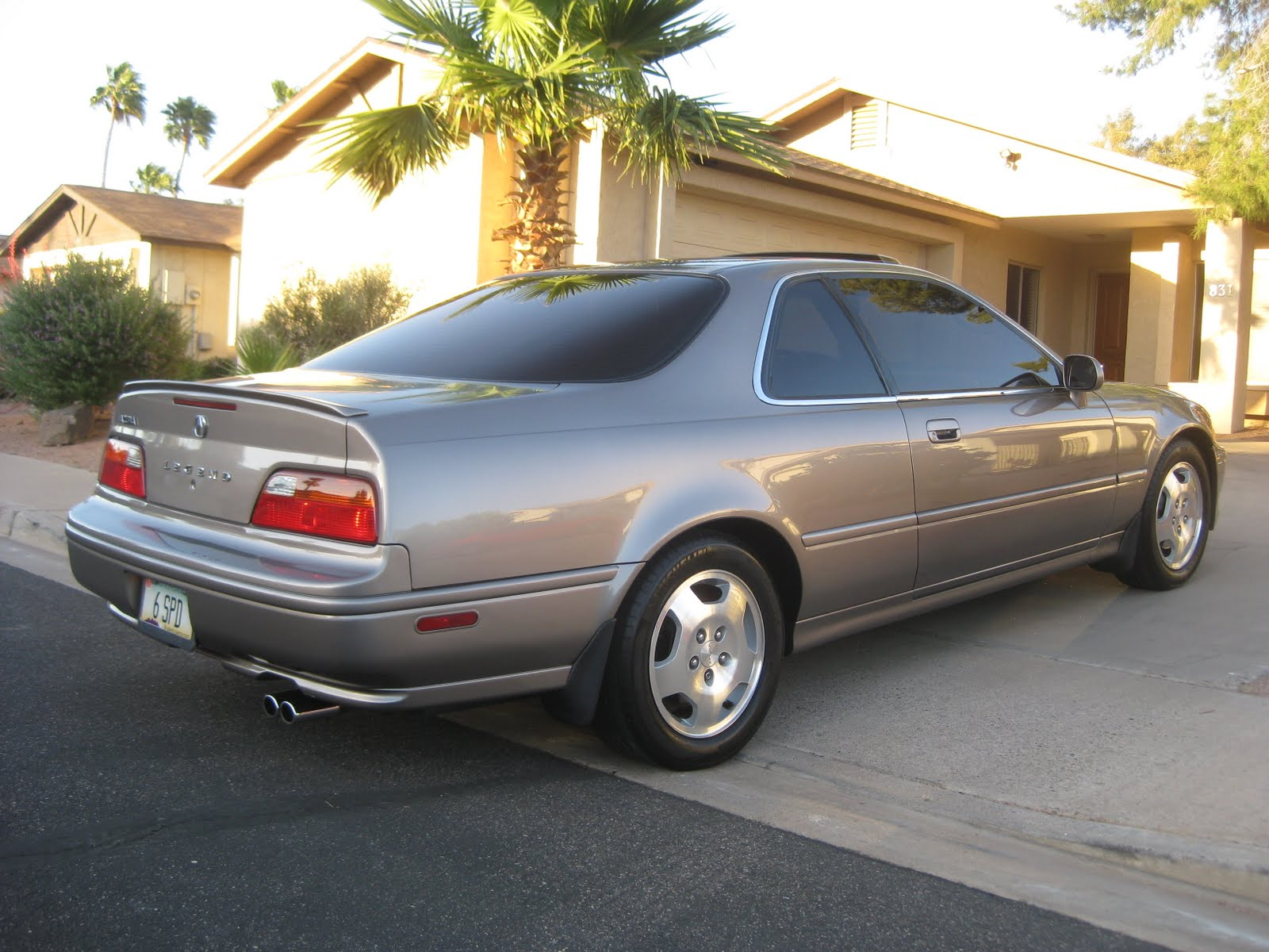 Tyson Hugie's 1994 Acura Legend Coupe rear view