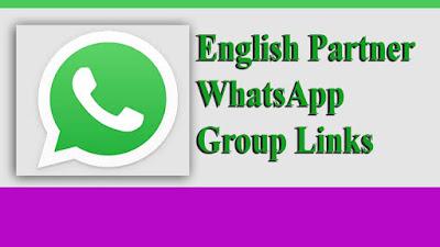 English Partner WhatsApp Group Links