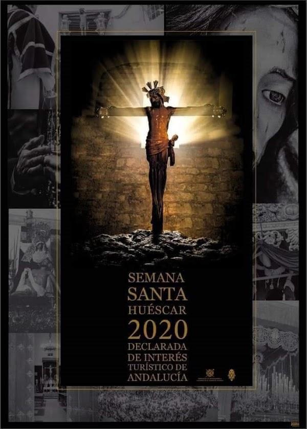 Cartel anunciador de la Semana Santa 2020 de Huéscar