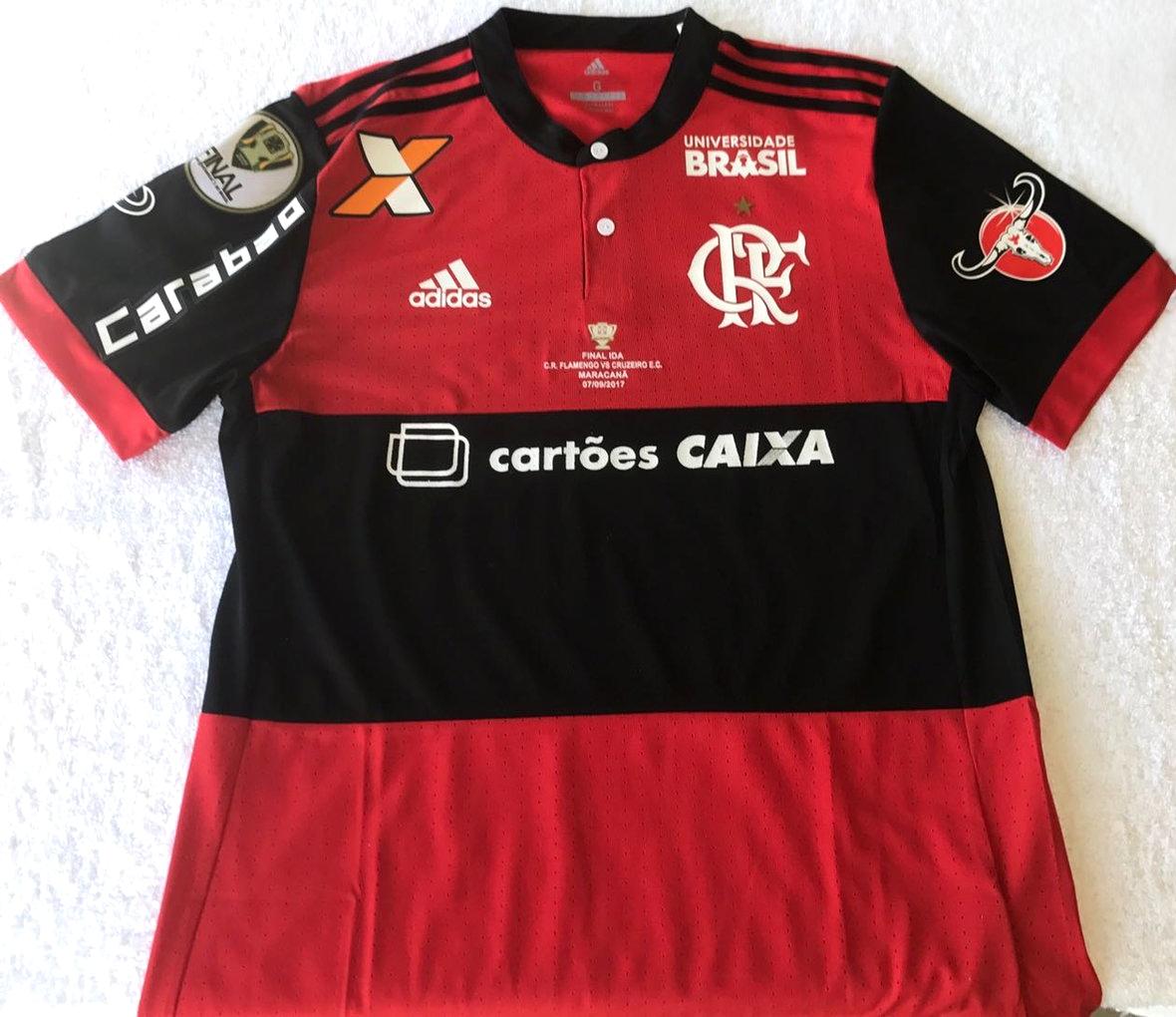 8dc9fd3e52 Flamengo apresenta camisa para a final da Copa do Brasil - Show de ...