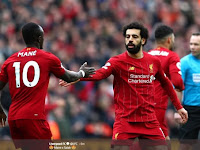 Salah and Mane Bring Liverpool Excellent 2-1