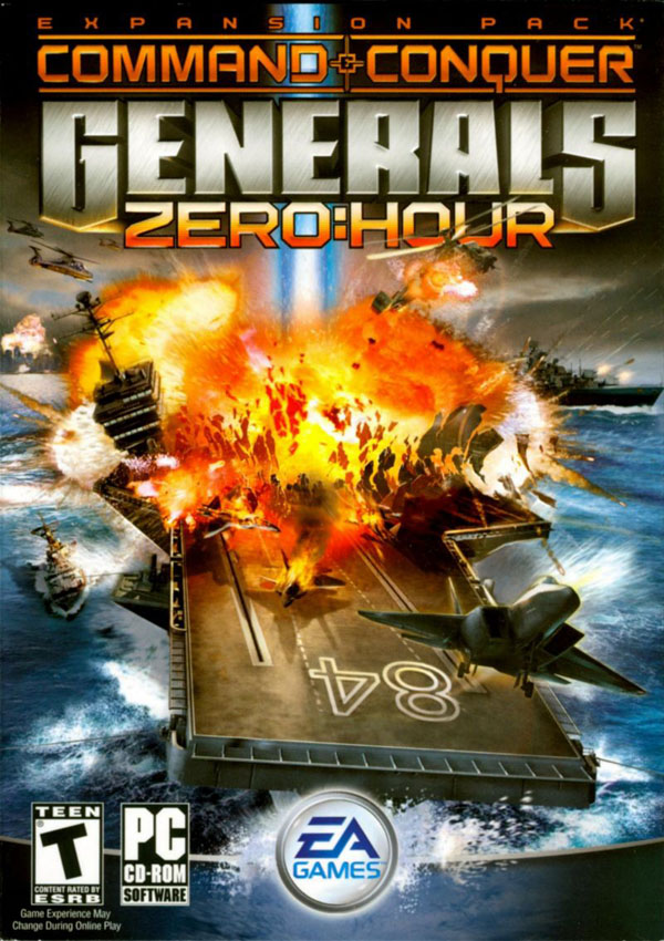 Command & Conquer Generals Zero Hour Download Cover Free Game