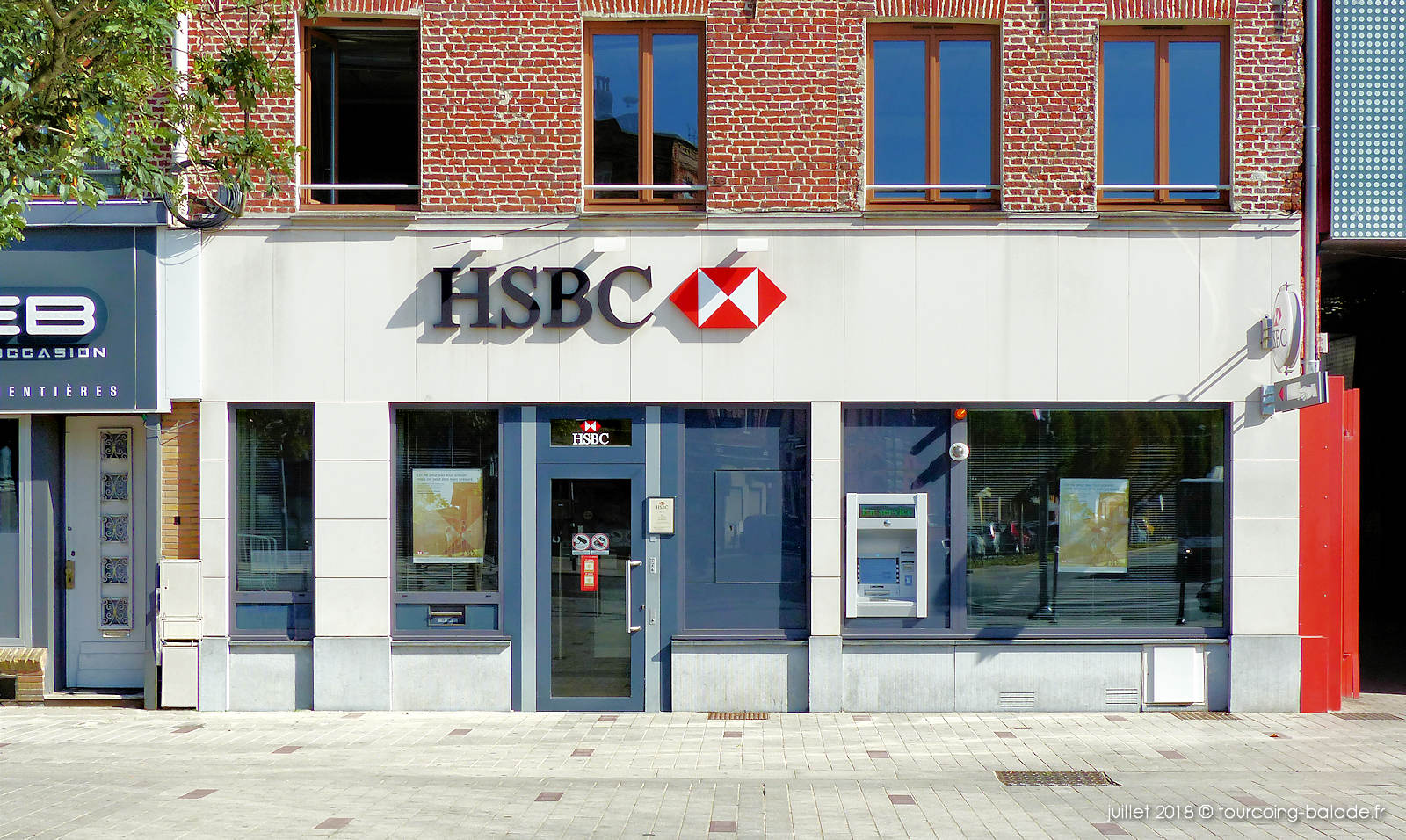 Banque HSBC Tourcoing - Place Roussel