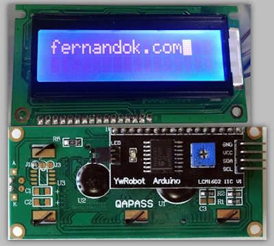 Display LCD 16x2 Serial com módulo i2c