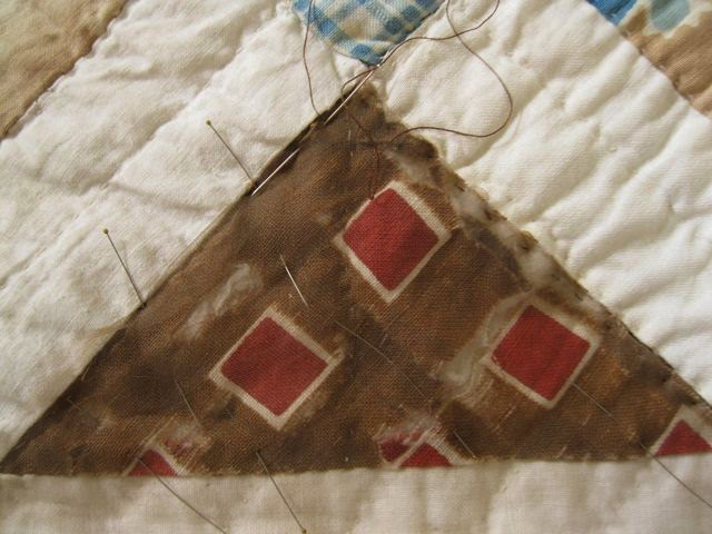 1860s Civil War Reenactor Quilt