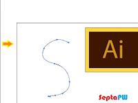 Step 3 Belajar Adobe Illustrator : Menggambar dengan Pencil Tool