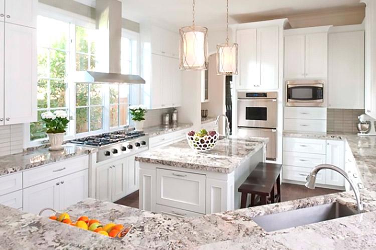 Quartz Gemstone Countertops Kitchen Bathroom