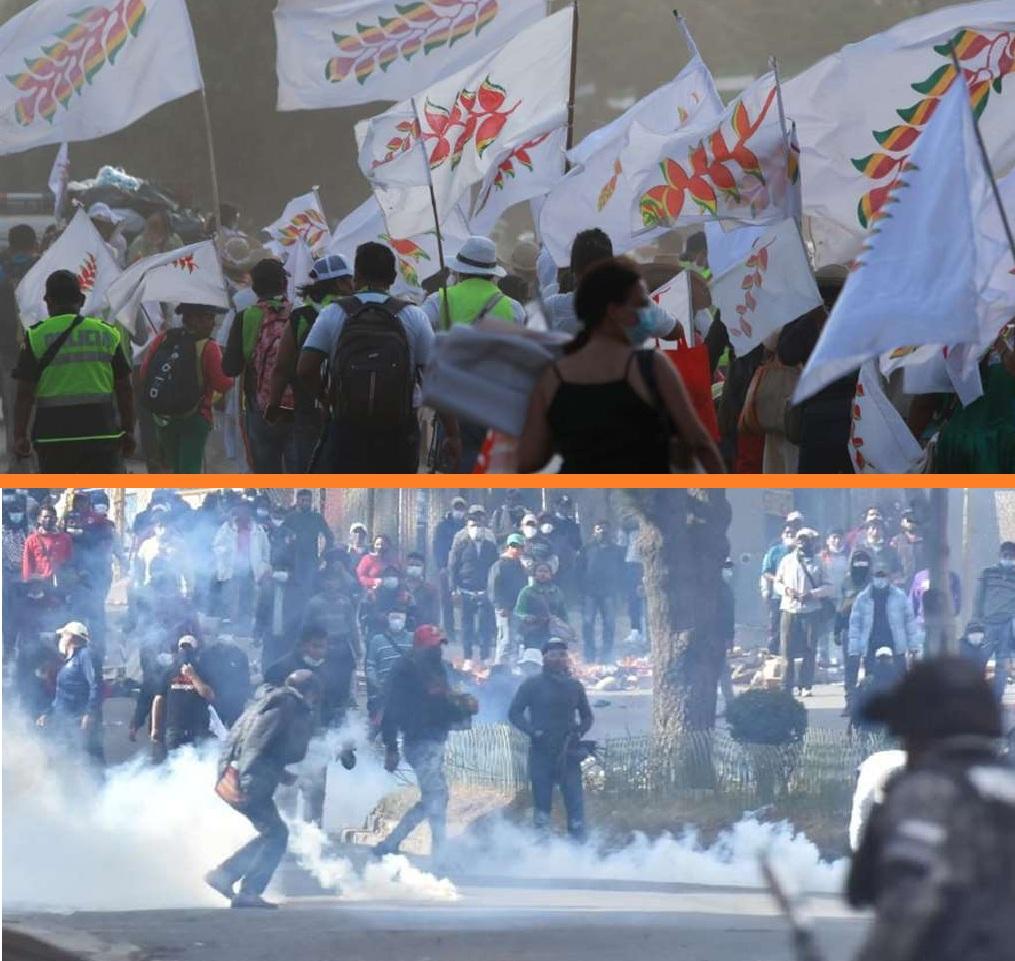 La marcha indígena y las pugnas de ADEPCOCA marcarán agenda en la semana / EL DEBER