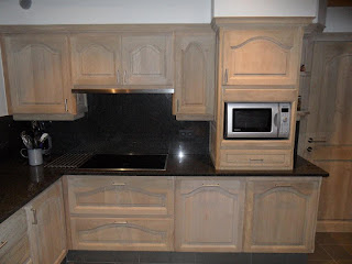 renovatie eiken keuken na