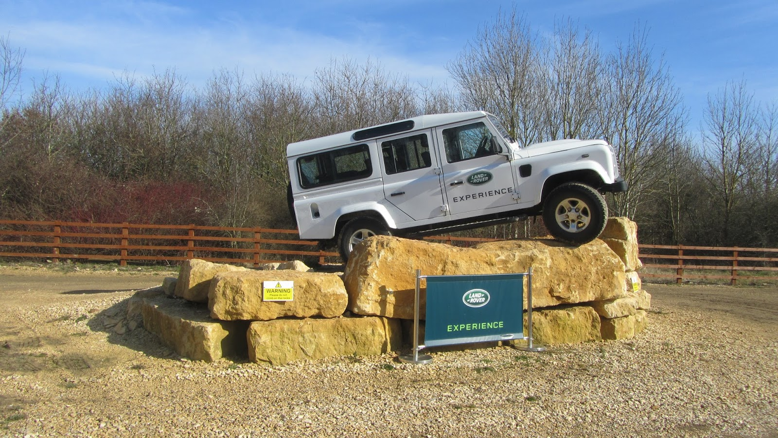 Land Rover 4x4 Off Road Experience