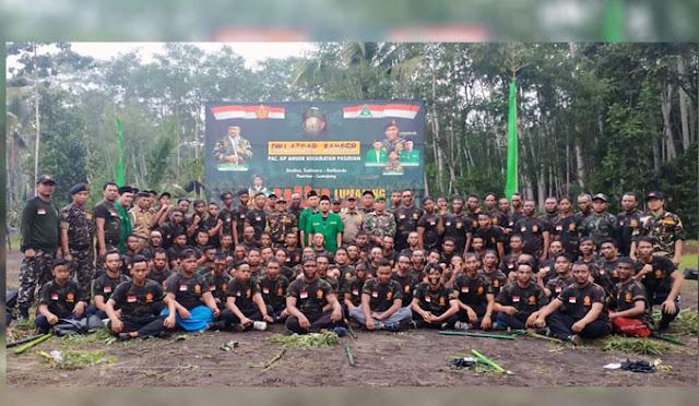 Diklatsar Banser PAC GP Ansor Kecamatan Pasirian