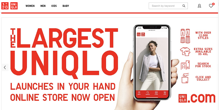 Uniqlo Online Store Officially Launches in the Philippines
