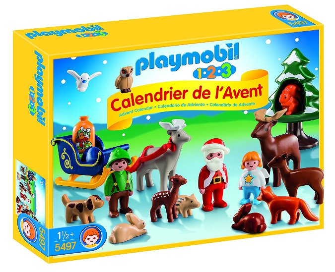 Calendario de Adviento Playmobil 123