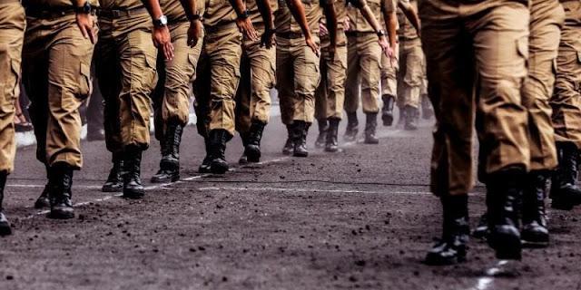 Militares não podem fazer greve?