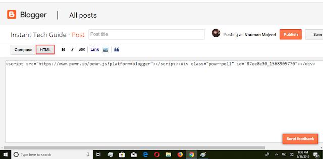 Uploading-Script-In-Blogger-Post