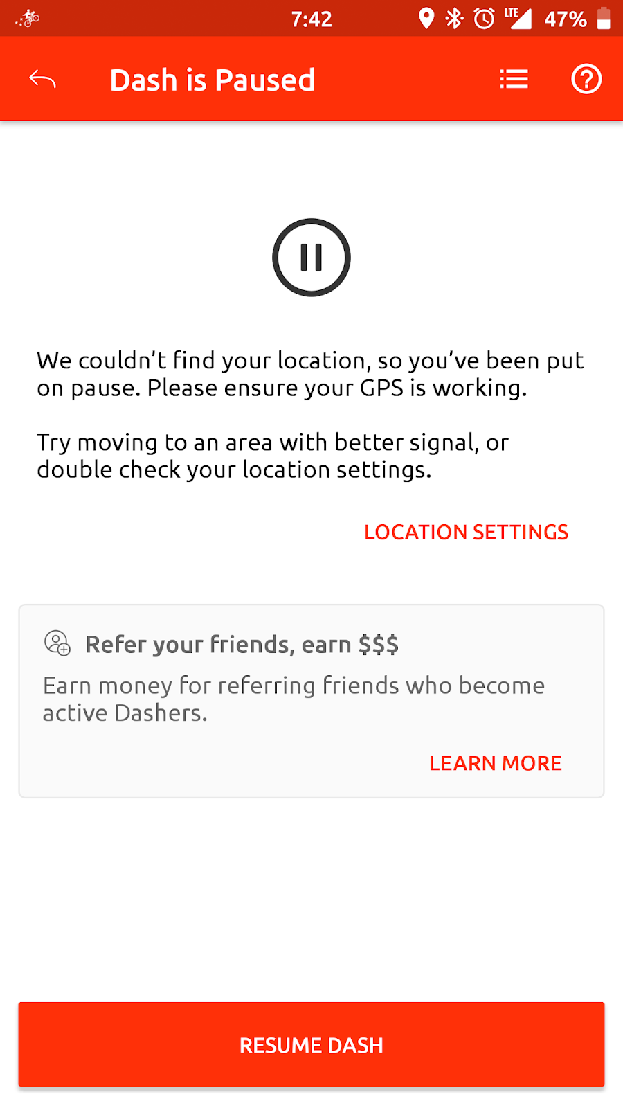 Doordash Driver: Doordash Driver App Pausing on its Own