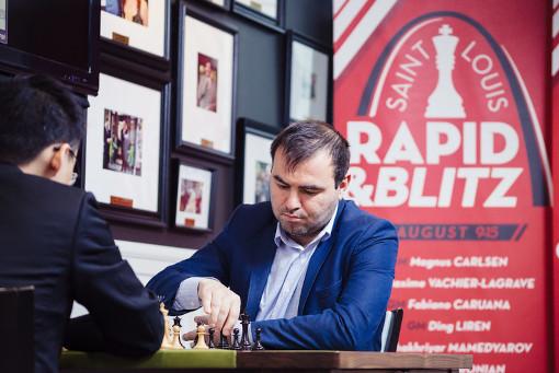 Le grand maître azéri des échecs Shakhriyar Mamedyarov - Photo © site officiel