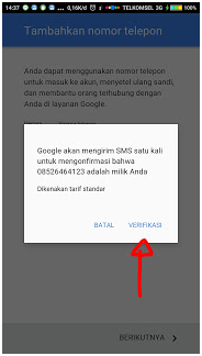 membuat akun gmail baru di Android