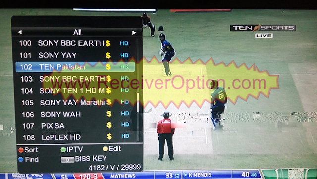 ICONE T10+ T20+ HD RECEIVER TEN SPORTS NEW SOFTWARE 30 JULY