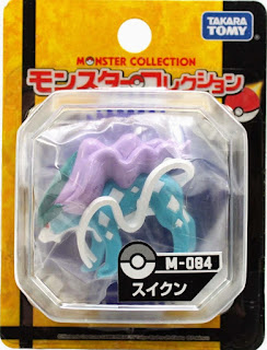 Suicune figure Takara Tomy Monster Collection M series