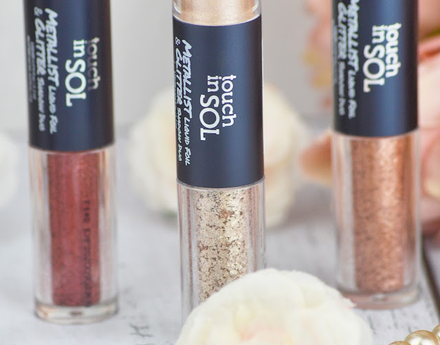 Touch in Sol Metallist  Shadow Liquid Foil & Glitter Duos Review & Swatches, Lovelaughslipstick Blog