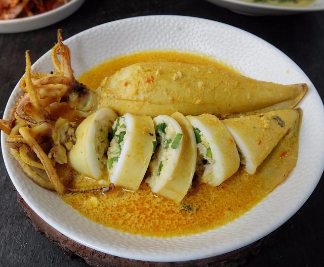 resep gulai pakis sotong bunting Resepi Kari Telur Nasi Kandar Enak dan Mudah