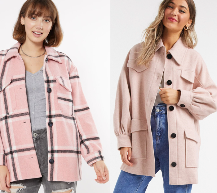 pink plaid shacket black friday deals 2020