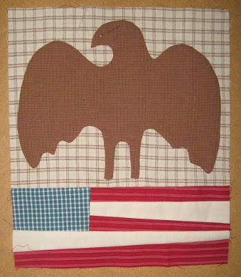 Eagle and Flag for Cheri Payne's Sweet Land of Liberty