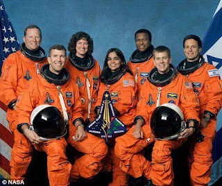 Spotight : NASA, Honours Kalpana Chawla and 6 Other Astronauts Killed in Columbia Space Shuttle.