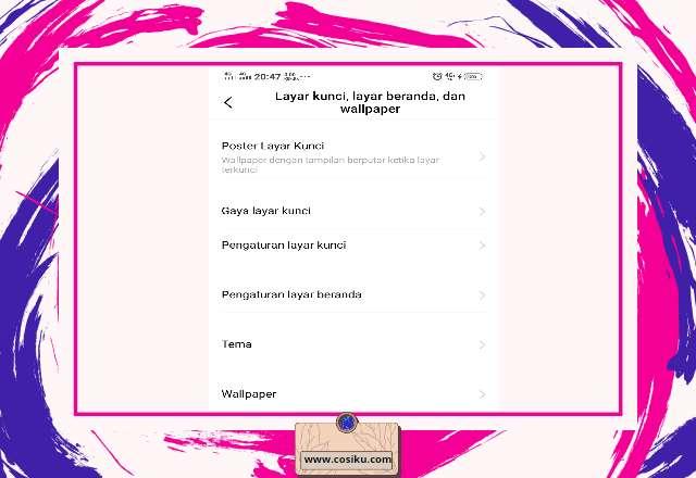 Cara Ubah & Nonaktifkan Wallpaper Layar Kunci di Hp VIVO Dengan Mudah