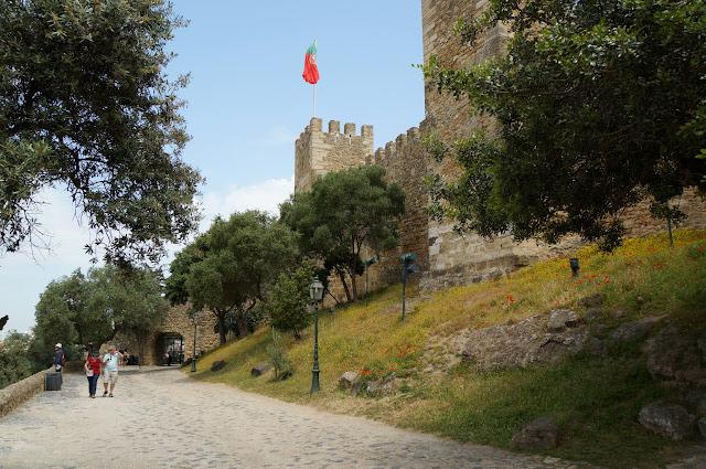 Castelo Sao Jorge-Lisbonne-Portugal