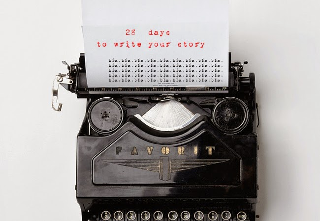 28 days to write your story #day5